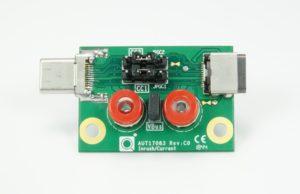 USB-C® Inrush/Bypass Capacitance Measure Fixture