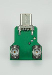 USB-C® 2.0 Plug HS SQ Test Fixture