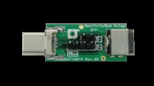 USB-C® Back Voltage & Sensitivity Fixture