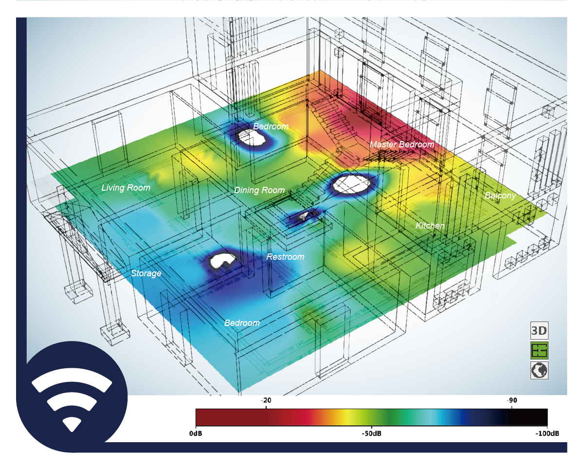 Wireless Heat Map Analysis